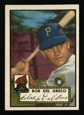 1952 TOPPS~#353~BOB DEL GRECO~PACK FRESH VISUAL APPEAL~STRONG HIGH NUMBER CARD