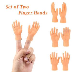 Super Tiny Hand - Joke Finger Puppet Small Finger Little Funny Trump Hand