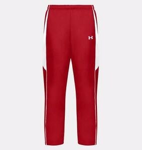 Under Armour Men's Crave Woven Warm-up Pant Red