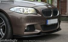 BMW F10 F11 M-Sport Front Bumper spoiler lip chin M Power tuning splitter M-Tech