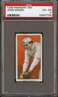 1909-11 T206 John Ganzel Piedmont 350 Rochester Minor League PSA 4 VG - EX