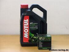 Motul Öl 5100 4T 10W-40 / Ölfilter Suzuki GSX-R600 alle Modelle Bj 06 - 12