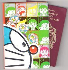 Doraemon japonés Robot Gato Lindo Porta Pasaporte adorable Bolsa De Viaje De Regalo