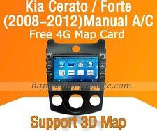 "8"" Car Dash DVD Player GPS Navigation Radio fit for Kia Forte Cerato (2008-2012)"