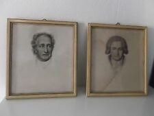old Drawings 19th century portrait