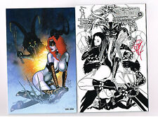 TAROT WITCH OF BLACK ROSE #95 Studio Cover signed by Jim Balent & Cvr B litho!