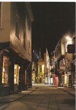 Yorkshire Postcard - Stonegate At Night - York - Ref ZZ5082