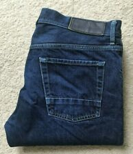 Mens Stone Island straight leg indigo blue denim jeans W 32 L 30