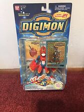 Bandai Digimon Digivolving Flamedramon Digi Egg Figure Season 2
