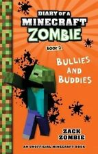 NEW, DIARY OF A MINECRAFT ZOMBIE. BOOK 2. BULLIES AND BUDDIES
