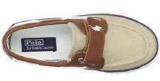 Polo Ralph Lauren Kids Sander Coast EZ Canvas Fashion Boat Shoes,  US 12, EUr 29