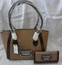 GUESS PROPOSAL SATCHEL HANDBAG PURSE WITH MATCHING WALLET