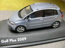 1/43 Schuco vw golf plus 2009 eisblaumetallic