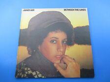 Janis Ian Between The Lines Album LP Vinyl 1975 Columbia Records