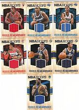 15/16 Panini Hoops Rookie Remembrance Jersey Alec Burks #1 Jazz