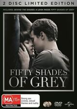 Fifty Shades Of Grey (DVD, 2017, 2-Disc Set) (Region 4) Aussie Release