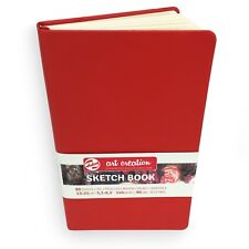 Royal Talens – Art Création Relié Carnet de Croquis – 80 Pages – 13 x 21cm - Red