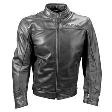 Giacche coperture imbottiti in pelle per motociclista
