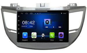 Android Auto Wi-Fi Car Stereo Radio GPS Navigation For Hyundai Tucson 2015-2018