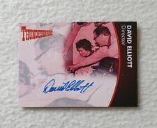 Unstoppable Cards Thunderbirds Series 2 Autograph Card David Elliott DE1
