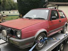 mk2 vw golf gti roll cage spares or repair project no mot mk1