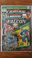 Captain America 178 Where is Captain America Marvel High Grade Comic Book RM9-37
