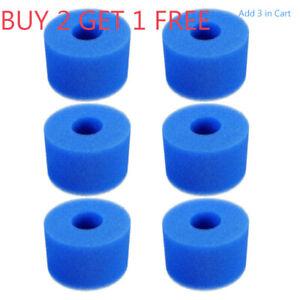 Foam Spa Hot Tub Filters V1 S1 Washable Bio Sponge Reusable Blue Washable Tools