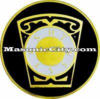 A-331 Royal Arch Masonic Auto Emblem FreeMasonry Car KHSTWSST Mason Freemason