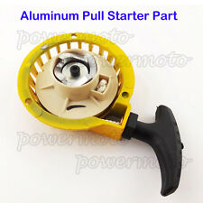 Jaune pull start starter partie pour 47cc 49cc mini pocket dirt bike atv quad moto