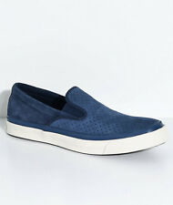 Converse Deck Star Tommy Obsidian Slip On Skate Shoes Men's 9 Blue Suede New