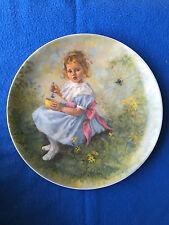 """Little Miss Muffet"" Mother and the Goose Collection Collector Plate 1981"