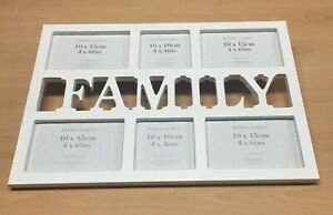 Debenhams Family Picture Frame Multi Photo Collection New and Boxed