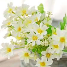 1 Set 28 Heads Artificial Bunch Cloth Plastic Daisy Flowers Hydrangea Wedding