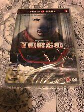 ANOTHER WORLD SERGIO MARTINO'S TORSO UNCUT DVD SUZY KENDALL