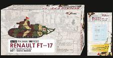 Flyhawk 1/72 3000 French FT-17 Light Tank Cast Turret (1+1)