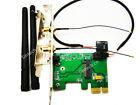 Sintech M.2 A E Key WiFi Bluetooth 4.0 to PCI-e USB Adapter for Intel 7260 card