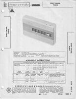 Sony TR-810 Sams Photofacts Original Vintage Transistor Radio FREE SHIPPING