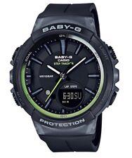 Casio Baby-G * BGS100-1A Runner Anadigi Step Tracker Black Watch COD PayPal
