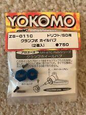 YOKOMO Clamping Wheel Hub 12mm, Wide 5mm (Blue)(ZS-011C)