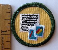 Retired Girl Scout 2011 Junior COMMUNICATION BADGE  Letter Writing Stamps Patch