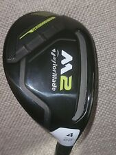 New listing Taylormade M2 Rescue 2017 4H Hybrid Men RH 22* REAX 75 Stiff with Headcover