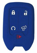 Chevrolet Silverado Keyless Entry Remote Key Fob BLUE Rubber Cover 2020 2019