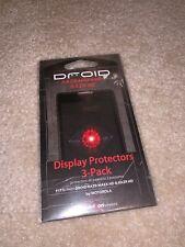DROID RAZR MAXX HD RAZR HD Display Protectors 3 Pack
