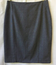 Portmans Size 12 Skirt NEW Black Print Corporate Work Office Business Career