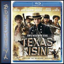 TEXAS RISING - Bill Paxton & Jeffrey Dean Morgan  *BRAND NEW BLURAY *