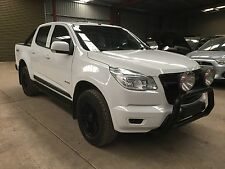 2014 Holden Colorado RG 4x4 turbo diesel auto 48km  damage ideal export or parts