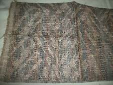 TAPESTRY / UPHOLSTERY  FABRIC 1 PIECE  1/2  YARD  LOVELY BROWN TAN DESIGN NEW