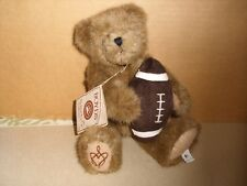 Boyds Bears H.B.'S Heirloom Series Courage Bear Jointed Holding Football 10''