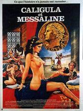Affiche 40x60cm CALIGULA ET MESSALINE (1982) John Turner, Betty Roland