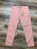 Levis XX Chino Standard Taper Men's Size 32x30 Mauve Pink NWT New Stretch